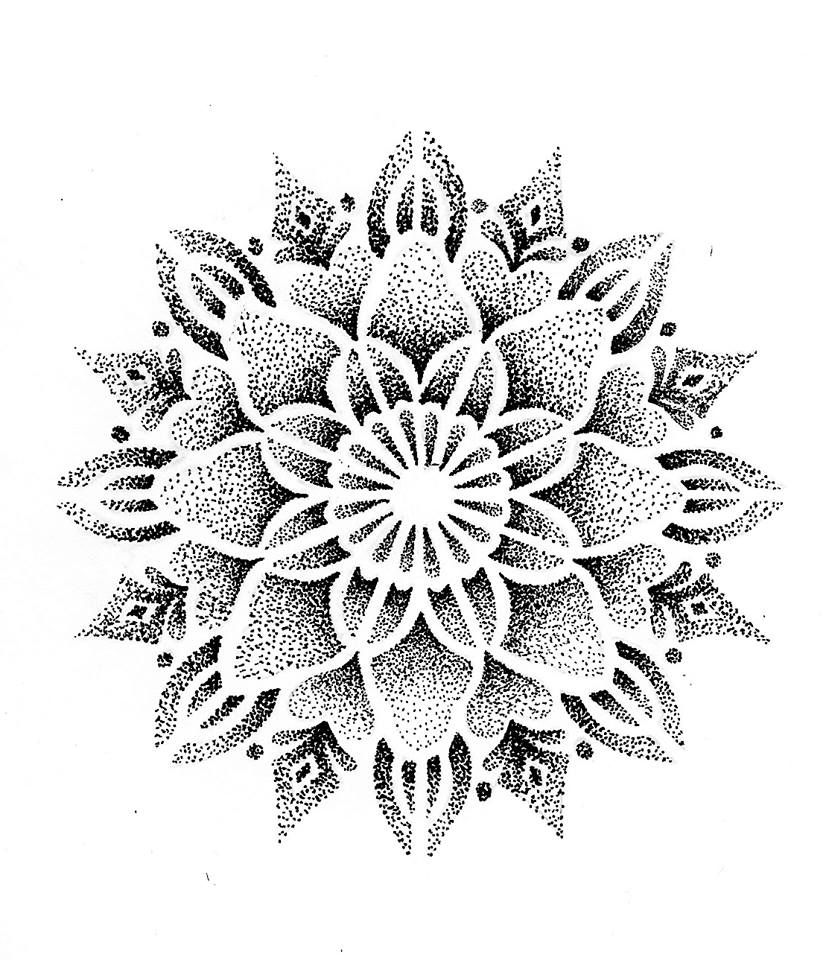 Photo of Mandala dot work