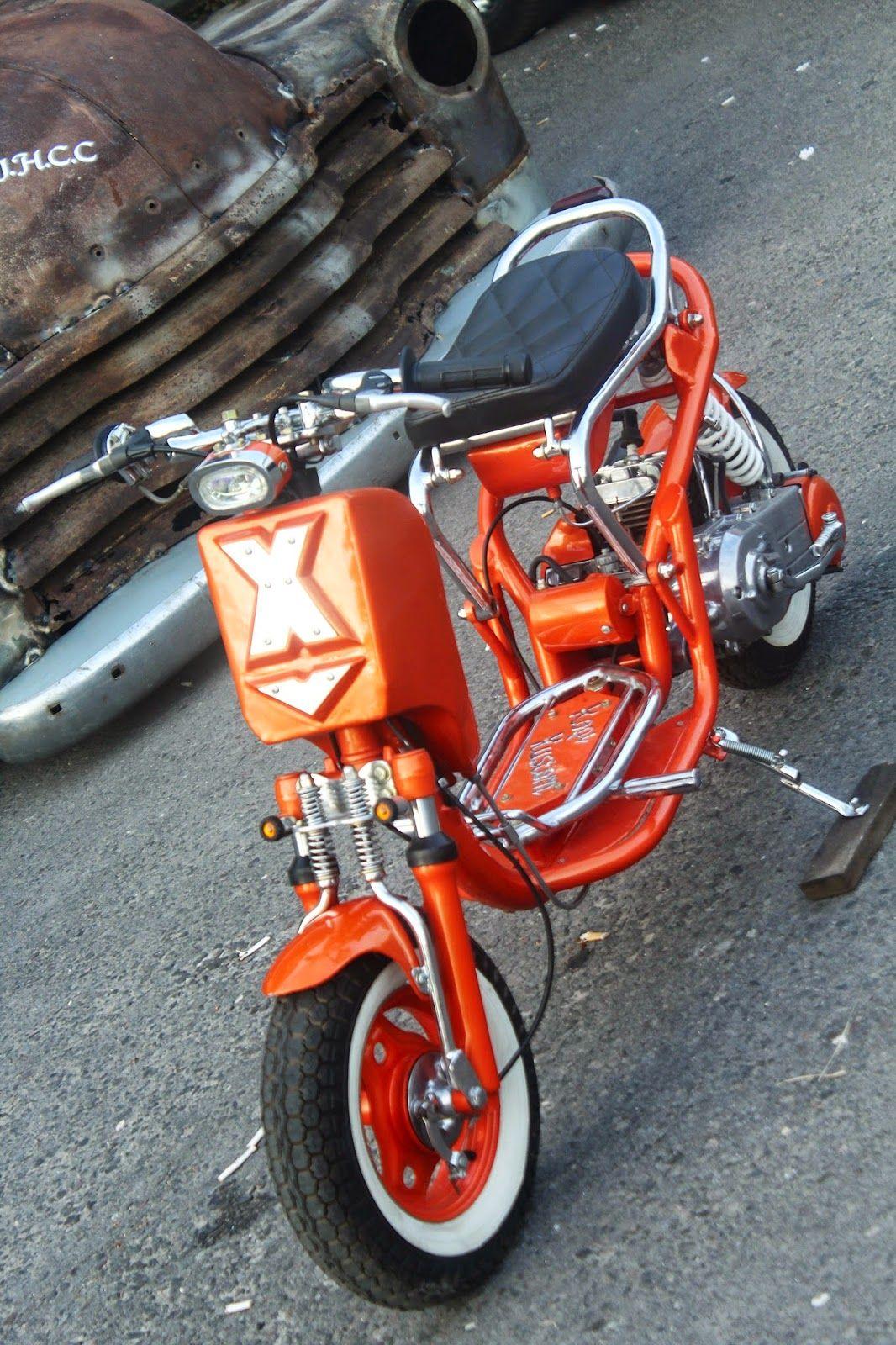 Kopi Kustom Matic Qingqi Si Mungil 50cc Mobil