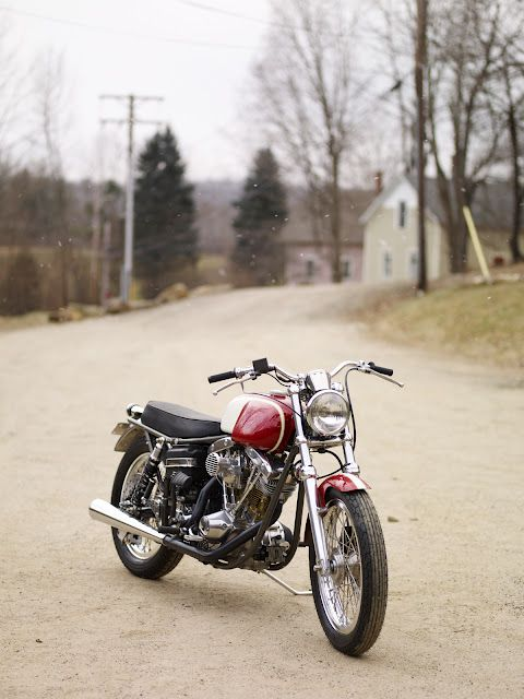 Shovelhead Scrambler   Bikes   Motorcycle, Custom sportster, Custom