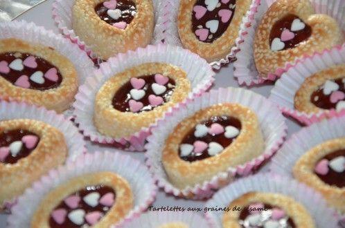 Tartelettes aux graines de sésame gâteaux Algériens