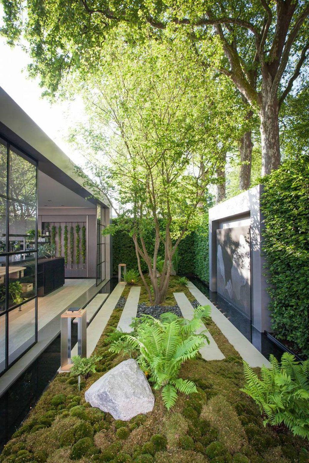 Pin By Nathan Cork Design On Garden Ideas Small Backyard Landscaping Modern Landscaping Modern Landscape Design