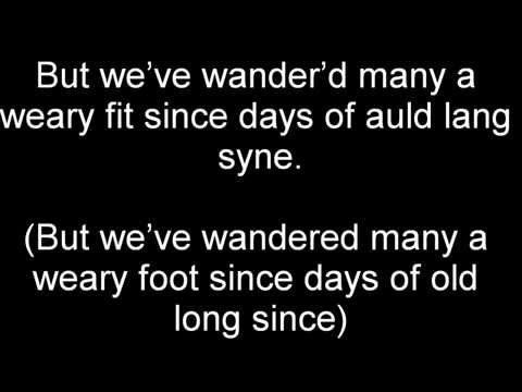 Video Auld Lang Syne Dougie Maclean Lyrics And Meaning