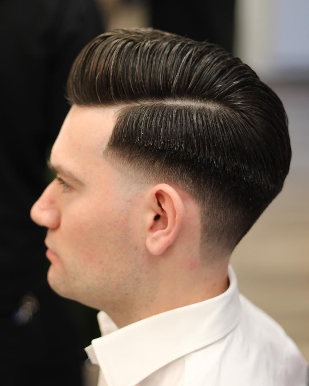 Classic haircut at @ferajnabarbershop #barber #barbershop