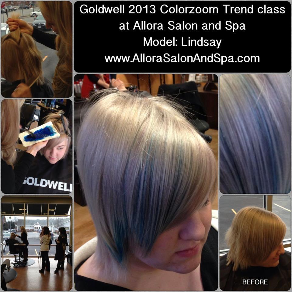 Peekaboo Highlight Yes Please Creative Hair Color Hair Color Creative Hairstyles