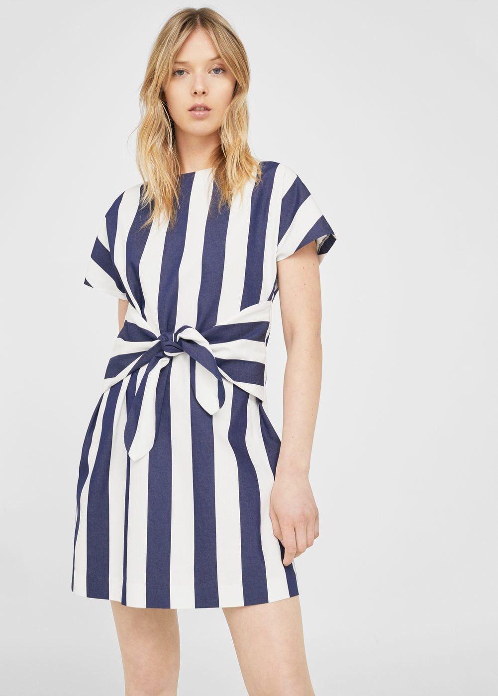 0aa237740c Striped cotton dress - Women