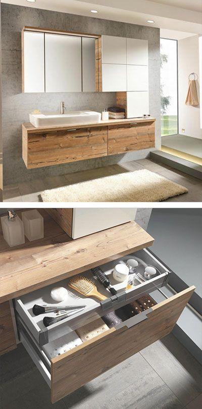 Modernes Badezimmer Bestehend Aus Waschbeckenunterschrank