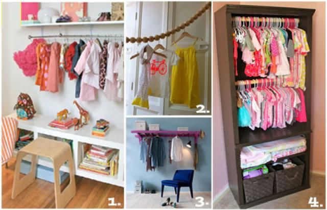 No Closet Problem Jpg Photos Via 1 Project Nursery 2 Paper Plane 3 Living 4