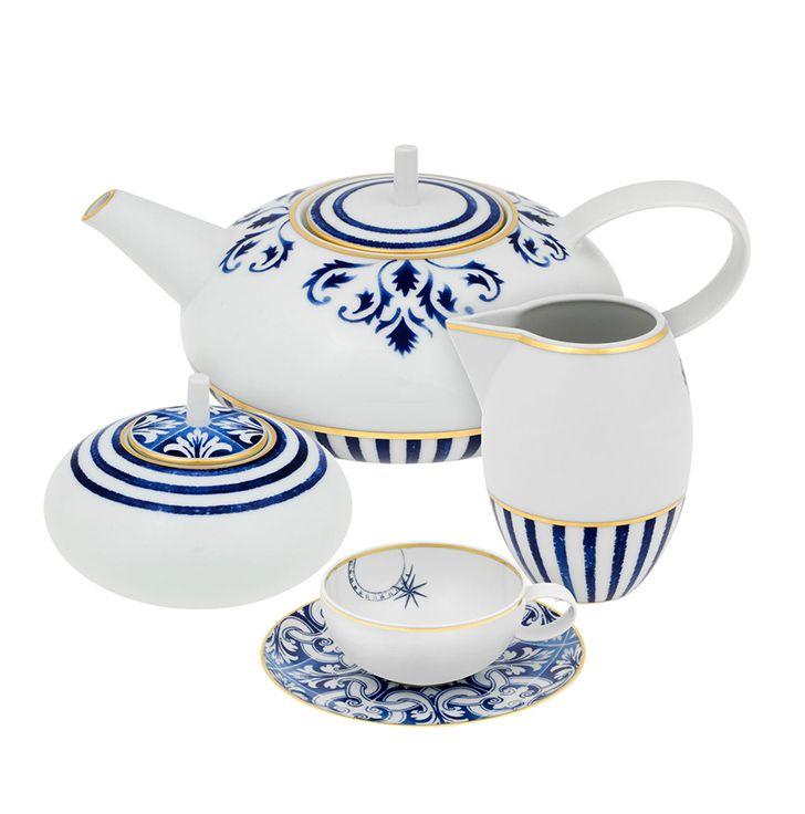 TRANSATLÂNTICA by Brunno Jahara | Tea Set