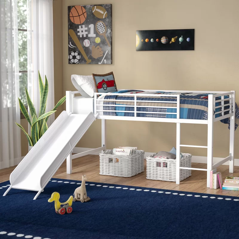 Whitbeck Twin Bed In 2020 Low Loft Beds Twin Size Loft Bed Bunk Beds With Drawers
