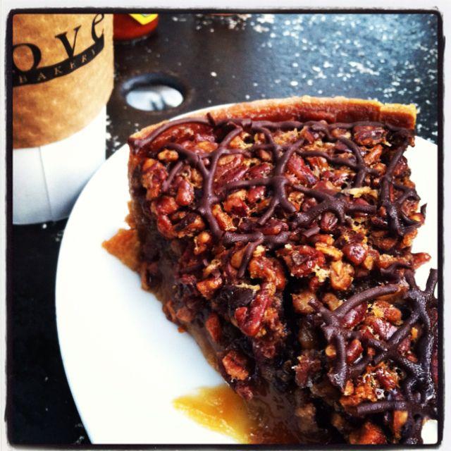 Chocolate pecan pie from the Alcove in Los Feliz, Los Angeles