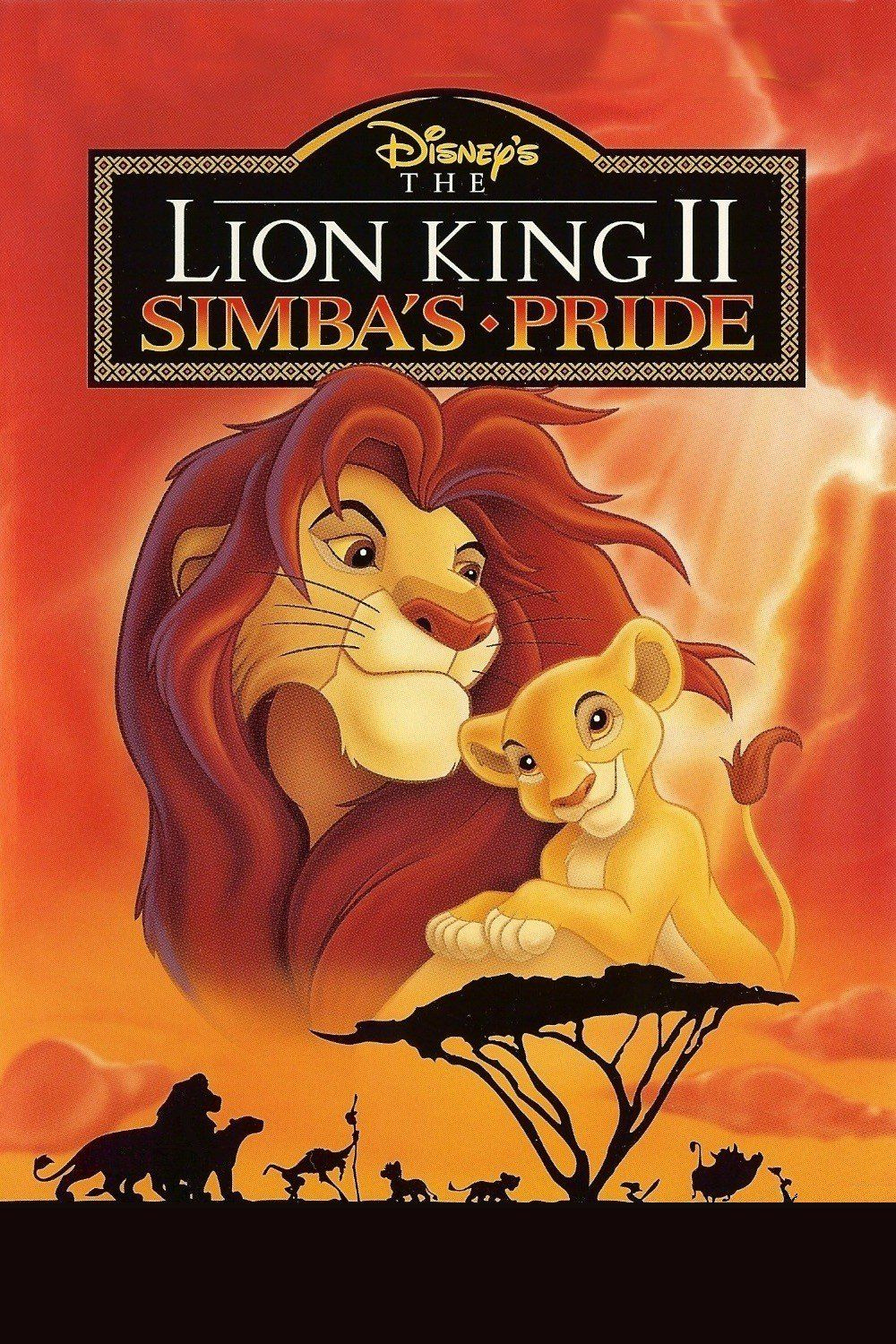 the lion king poster part 2 simbas