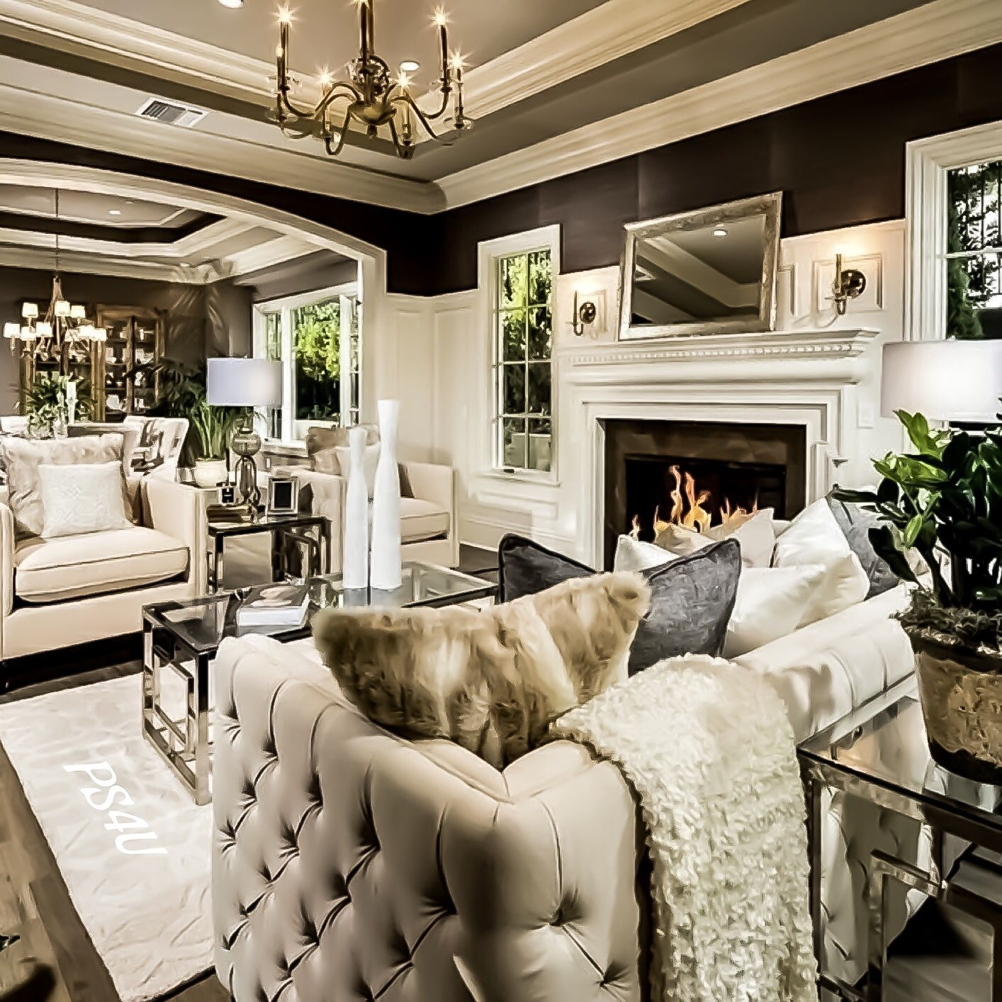 Natural living room decor ideas. #livingroom # ...