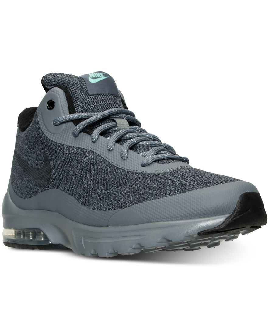 new product efc7c 9789c Nike Mens Air Max Invigor Mid Running Sneakers from Finish Line Air Max  95, Nike