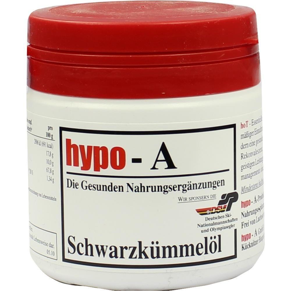 HYPO A Schwarzkümmelöl Kapseln:   Packungsinhalt: 150 St Kapseln PZN: 00028524 Hersteller: hypo-A GmbH Preis: 17,33 EUR inkl. 7 % MwSt.…