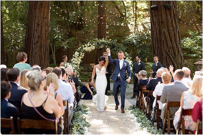 Deer park villa weddingrebecca and chris married bay