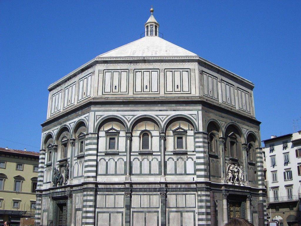 Florence Baptistery, Florence Italy