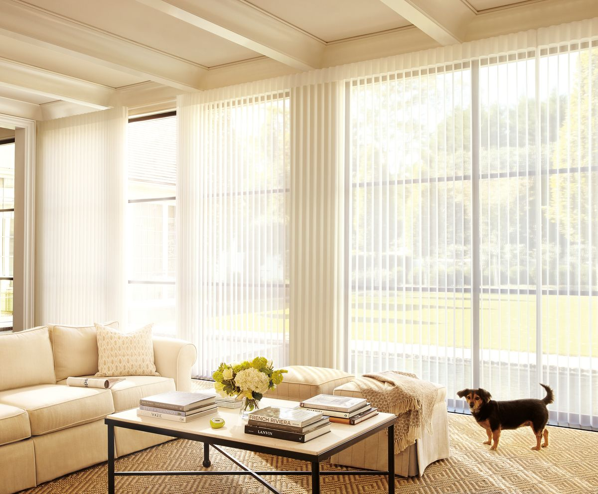 Make A Home Warm And Welcoming With The Light Filtering Transitional Style Of LuminetteR Privacy Sheers Ella Most Fortunate Stray Puppy Named After