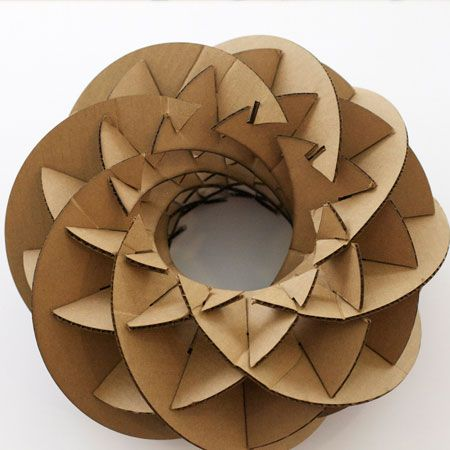 how to make lining yao the dailey method pinterest papier carton et meuble en carton. Black Bedroom Furniture Sets. Home Design Ideas