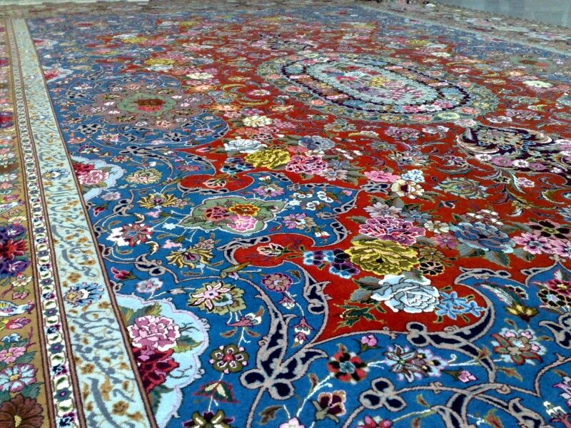 By Pournami Group Handmade Iranian Carpet