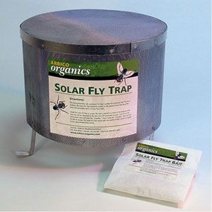 Solar Fly Trap -Control Existing Fly Population With This Easy-To-Use Trap