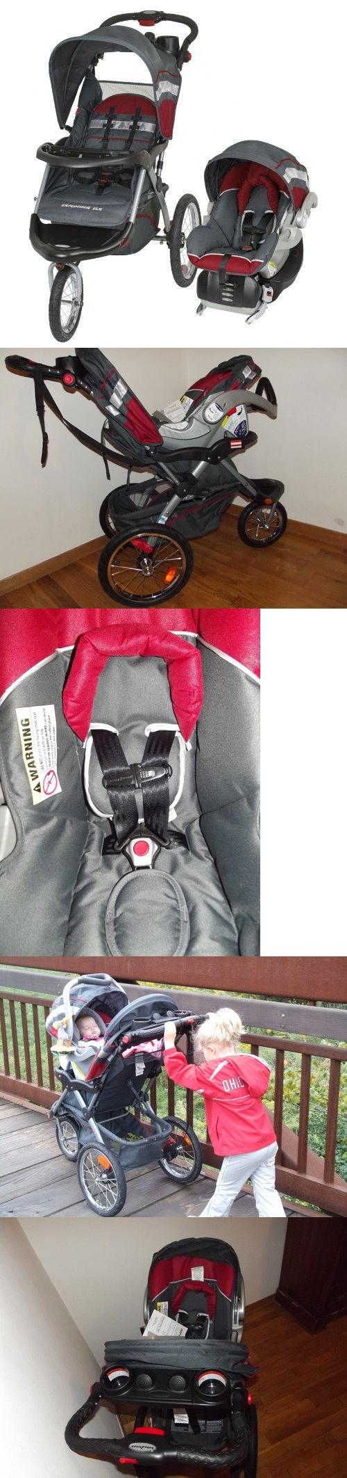 Baby Trend Expedition ELX Jogger Travel System Baltic