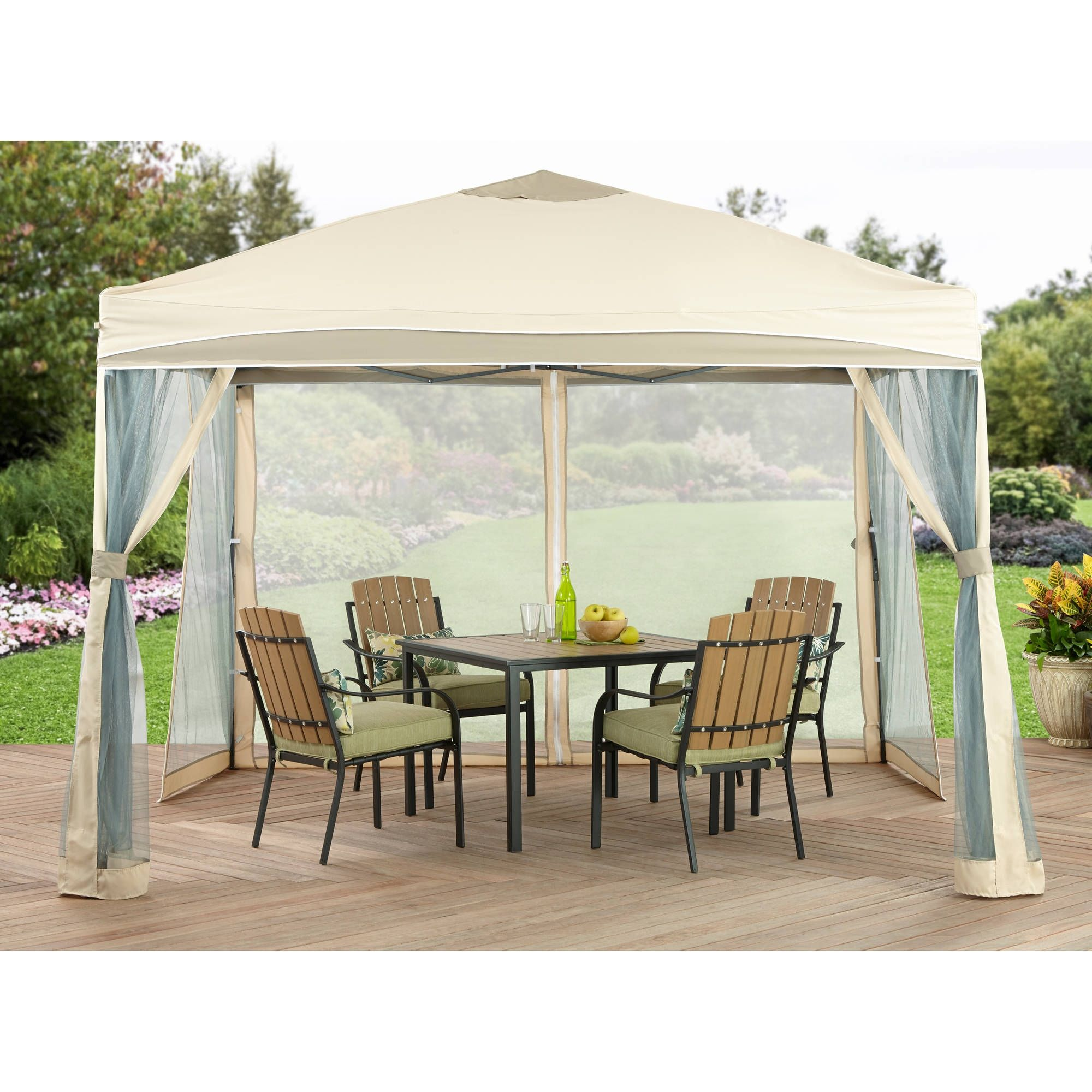 Better Homes And Gardens X Lawrence Portable Patio Gazebo Multicolor
