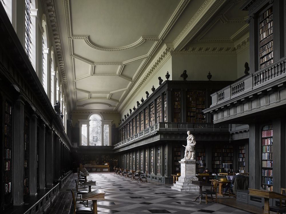 Librería de All Souls College Oxford