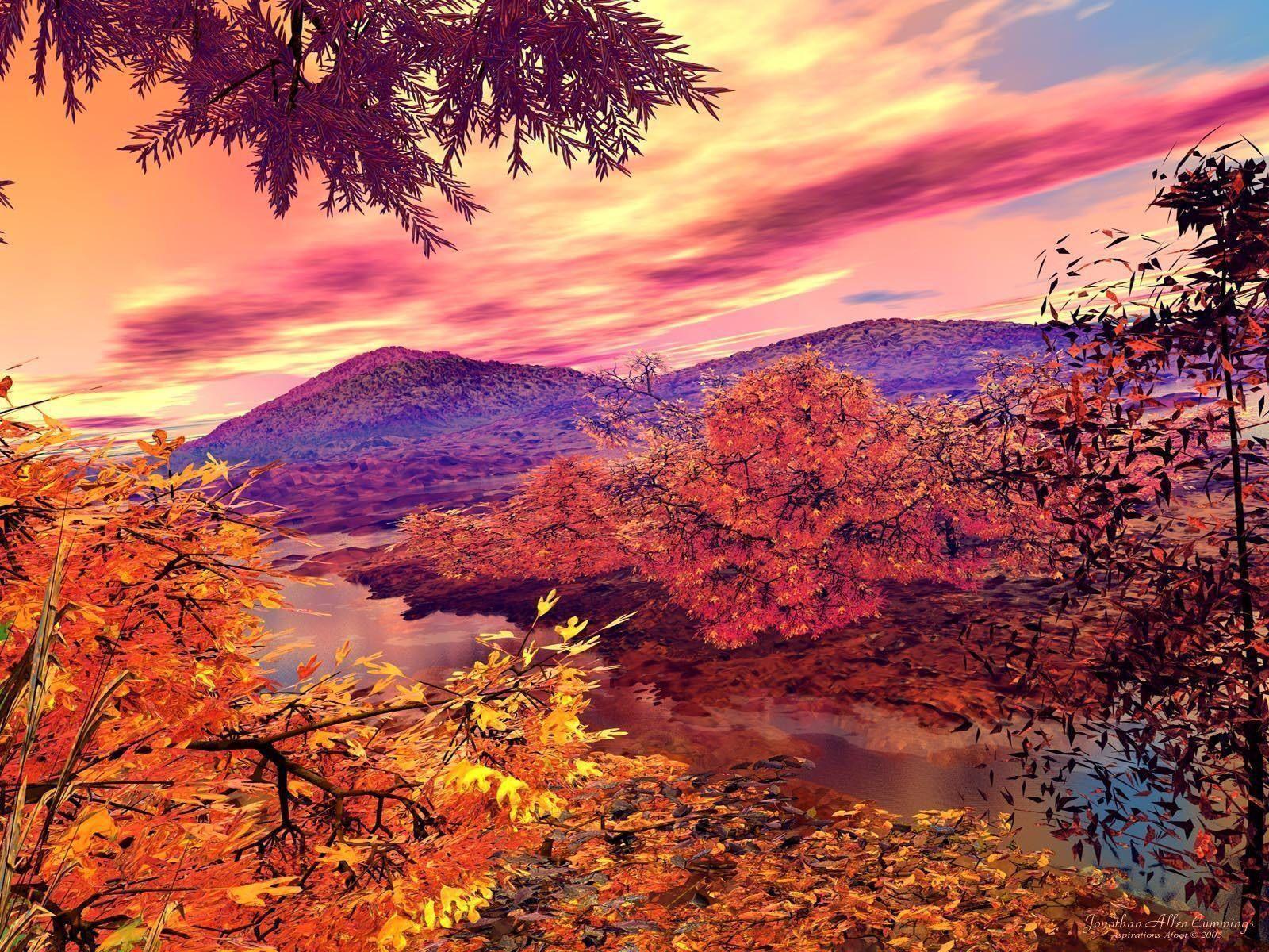 Cool Autumn wallpaper hd, Autumn scenery, Fall wallpaper