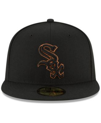 new style 61f5c d7260 New Era Chicago White Sox Ultimate Patch Collection 125th Anniversary  59FIFTY Fitted Cap - Black 7 1 8