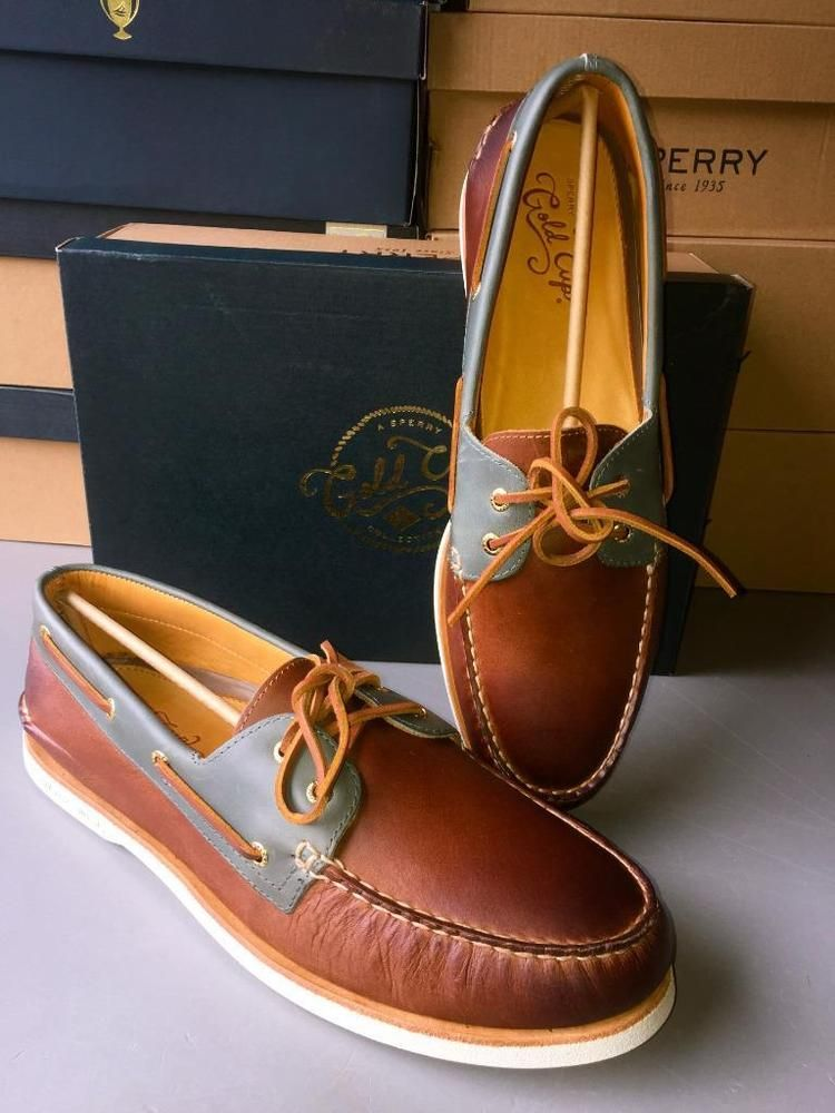 Sperry Top Sider Gold Cup AO~MENS~2EYE CATSKILL Boat Shoe