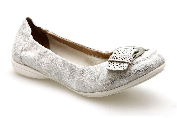Ballerines FUGITIVE NOCE/1 Blanc - Chaussures femme