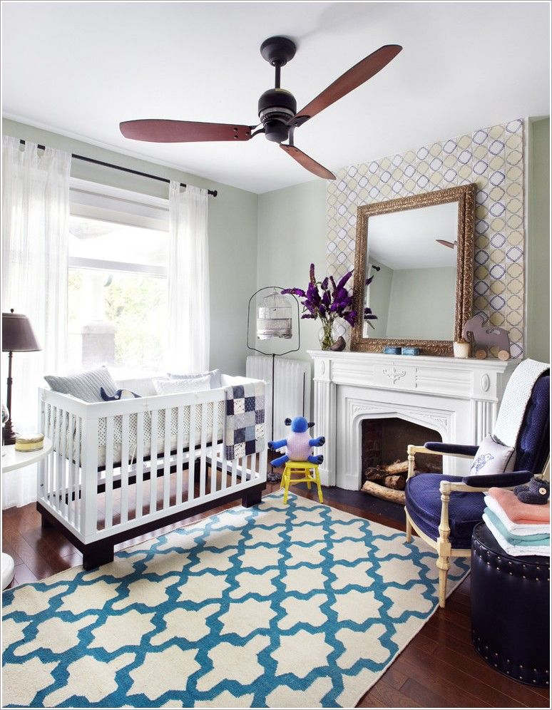 Explore Blue Ceilings Nursery Inspiration And More
