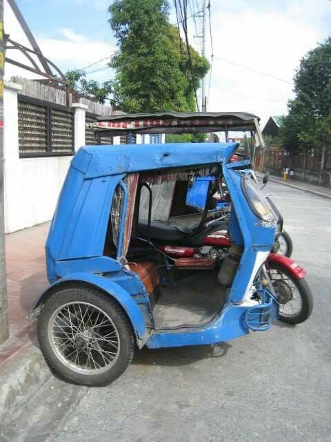 Tricycle ~Marikina, Philippines | Planes, Trains, and