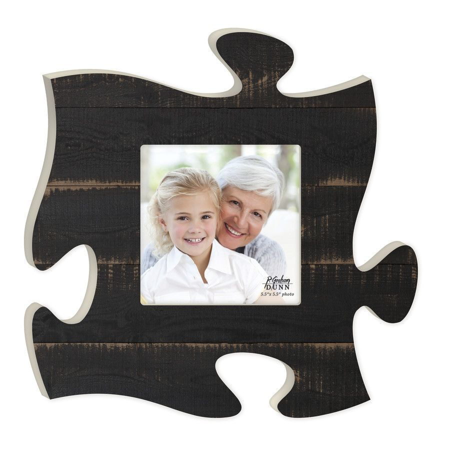 A Puzzle Photo Frame | Black wood, Classic picture frames and Products