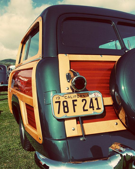 Items similar to Classic Retro Studebaker Woody – Seen in Etsy Finds – Classic Car Art – Surf Inspired Home Decor – Beach Art – Fine Art Photography on Etsy