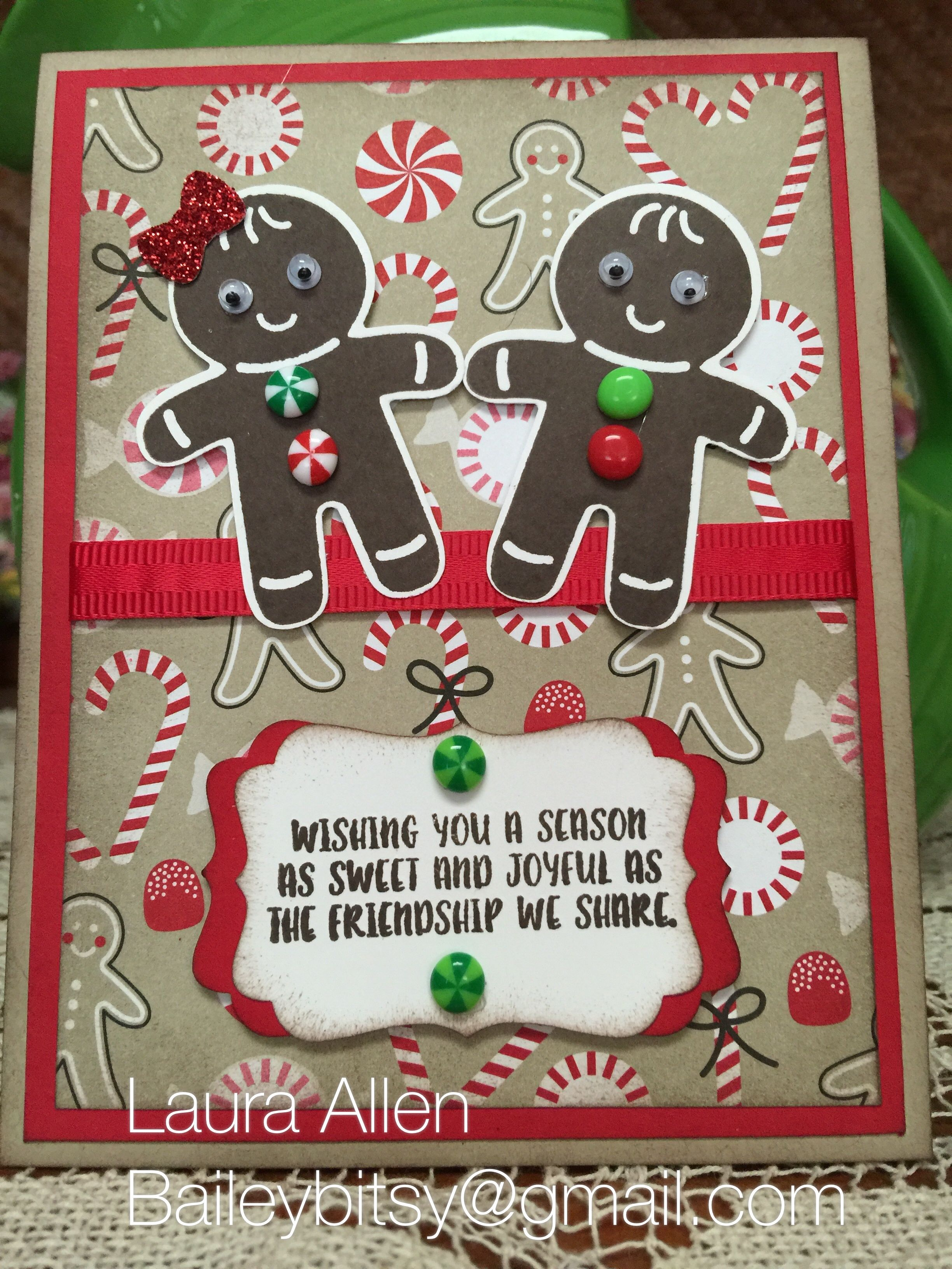 I love this Cookie Cutter Christmas stamp and punch set!