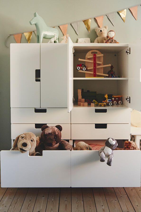 Mit Ikea Stuva Das Spielzeug Im Kinderzimmer Ordnen Ordnung