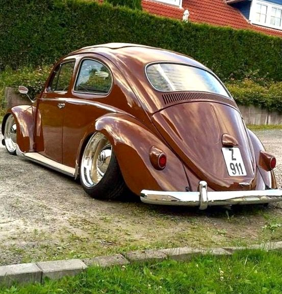 Vw Beetle Classic Car: Gotta Love That Unnecessary Camber Sometimes 👌🏻