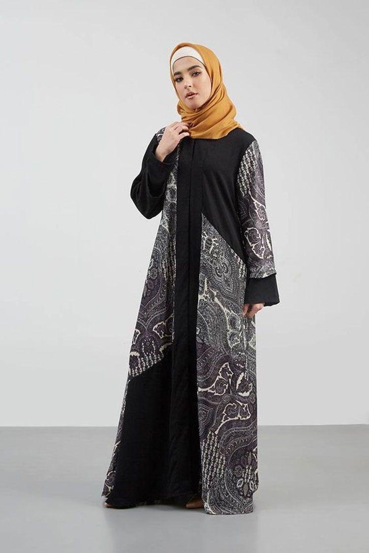 Model Gamis Batik Untuk Orang Gemuk Agar Terlihat Kurus di 12