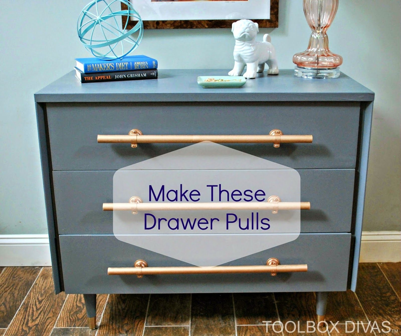 How To Make Drawer Pulls Diy Furniture Handles Drawer Pulls Diy How To Make Drawers