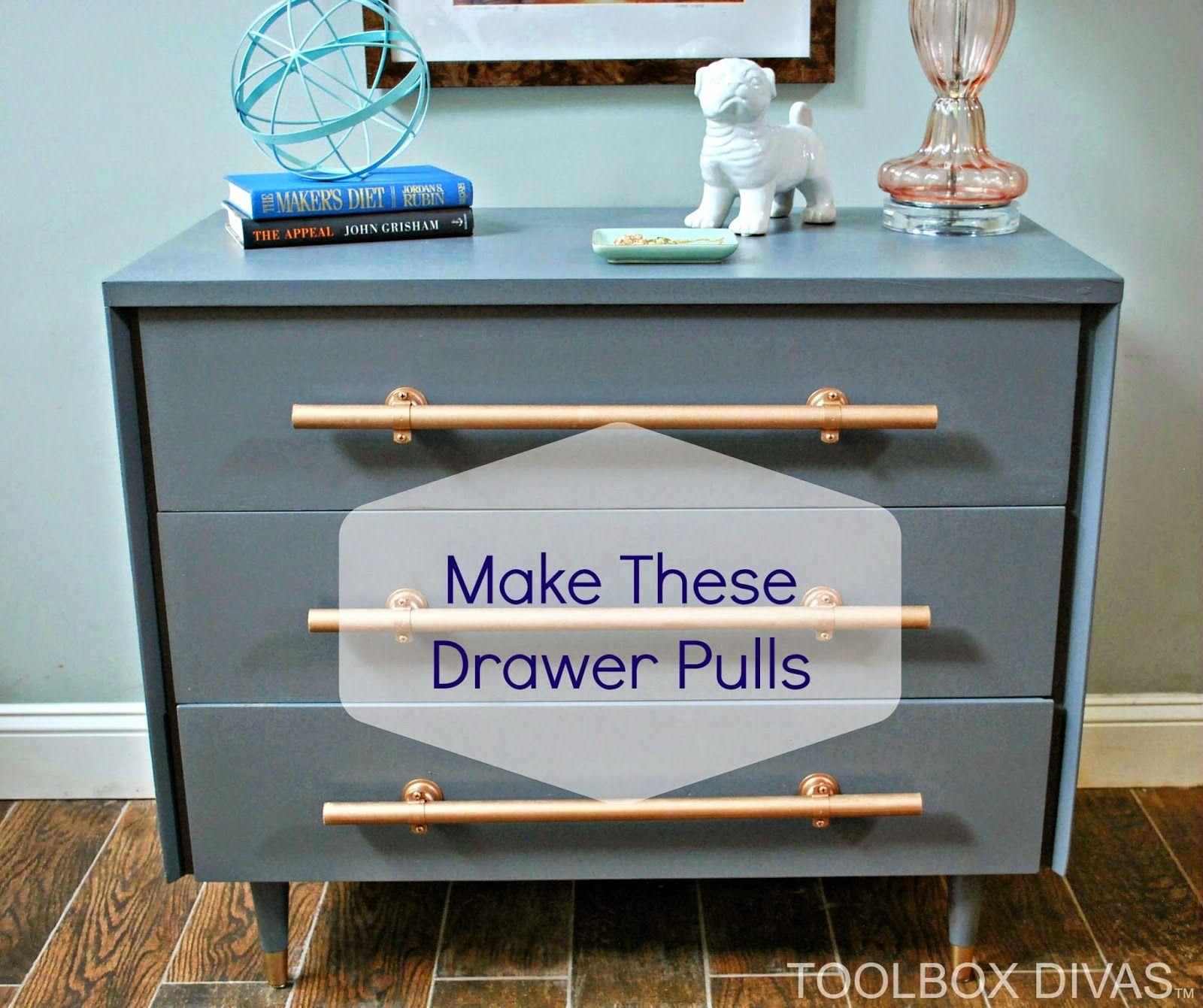 Diy How To Make Drawer Pulls How To Make Drawers Drawer Pulls