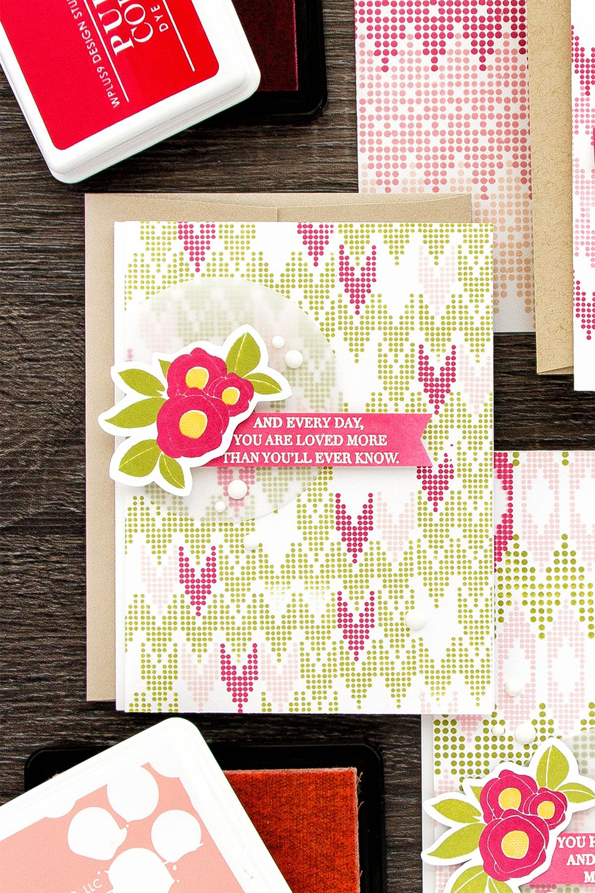 wplus9  themed cards feminine cards beautiful handmade