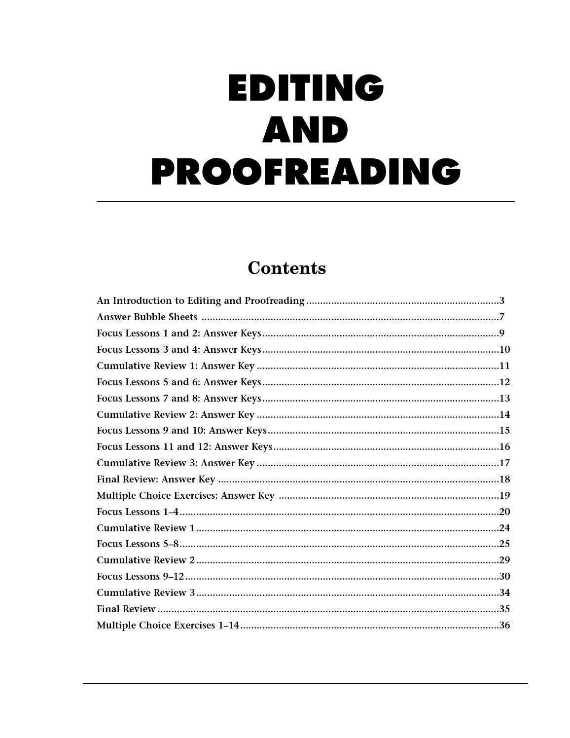 Yearbook Lesson Plans Worksheets Proofreading Lessons