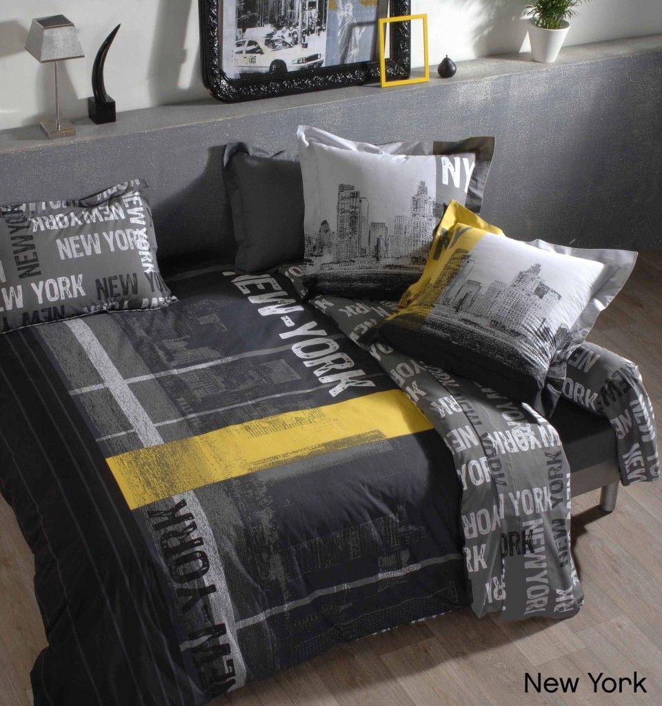 photo decoration deco chambre ado garcon new york 8 | Industrial ...