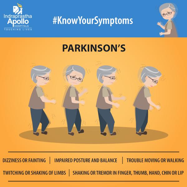 Parkinson's is a chronic progressive neurological disease