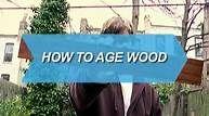 Aging wood.  Look like barnwood.
