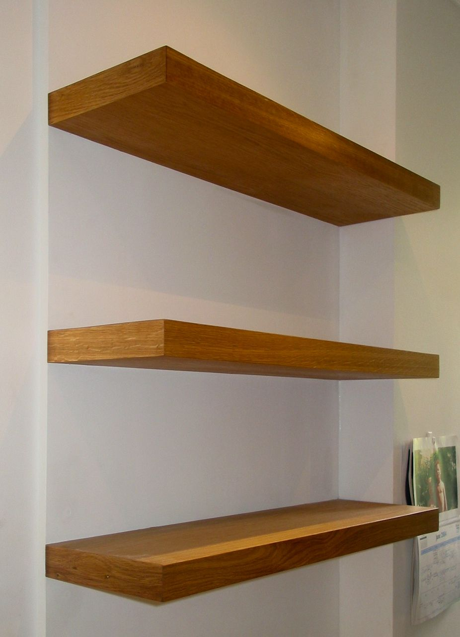 Floating Shelves Wooden - Home Ideas