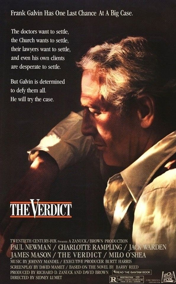 The Verdict (1982) (With images) Movie posters vintage