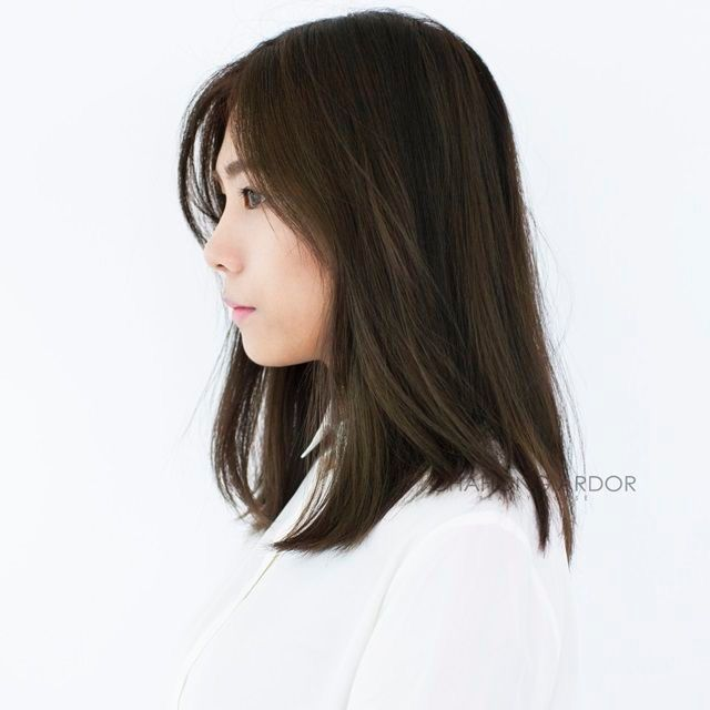 34++ Korean shoulder length hairstyles inspirations