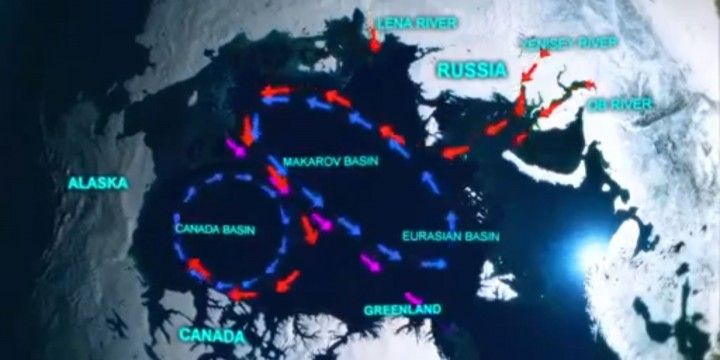 Does Freshwater Runoff in the Arctic change Ocean Circulation to Unlock Methane Hydrate in the Deep Ocean?  many videos